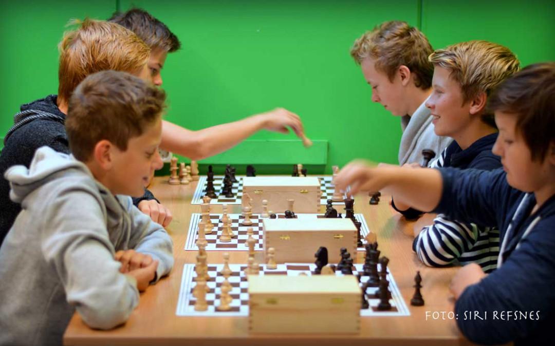 Sjakk er i vinden